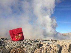 Vos médicaments ne craignent pas les vapeurs sulfureuses des sources chaudes, car ils sont conservés dans leur emballage d'origine.