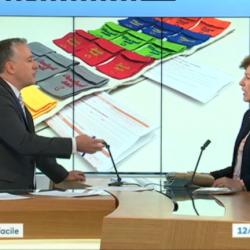 Cécile Pagnon présente Pilleasy au journal régional France 3 Rhône-Alpes